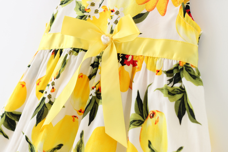 0-24-Months-Summer-Baby-Dress-Yellow-Lemon-Infant-Girls-Dresses-Sleeveless-Printed-Kids-Sundress-Fashion-Baby-Clothing-2