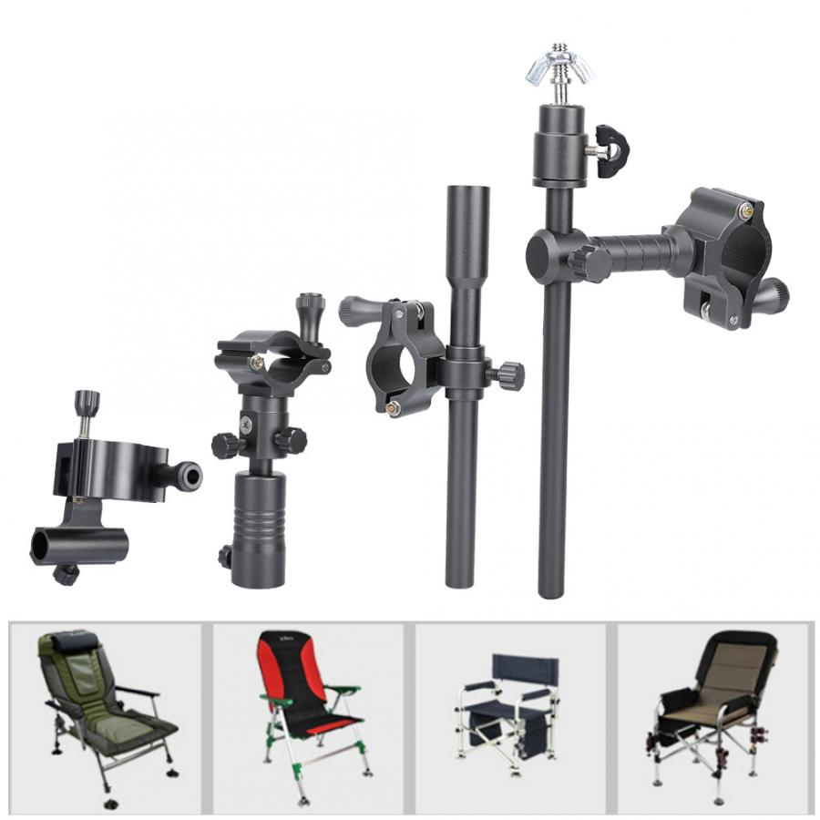 2pcs Adjustable Fishing Fort Bracket Support for Chair Fishing Pole Stand