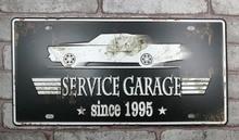 1 pc Service garage car repair Shop plaques Tin Plate Sign plate wall man cave Decoration Metal Art dropshipping Poster metal