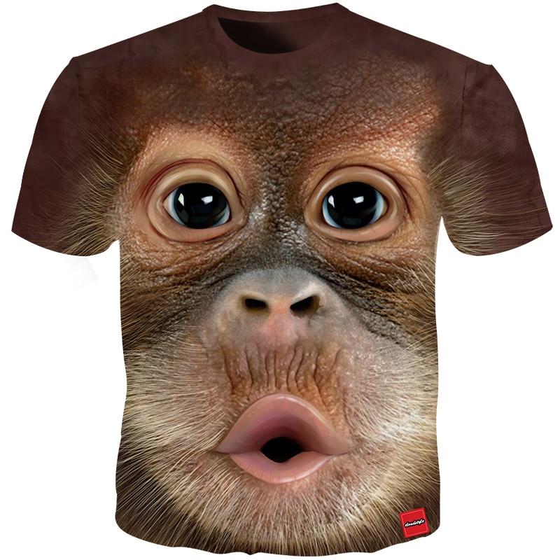 Mother & Kids Selfless Children 3d Cartoon Curious George Monkey Print T-shirt Clothes For Boy Girls Summer Short Tee Tops Clothing Kids Tshirt Wj050