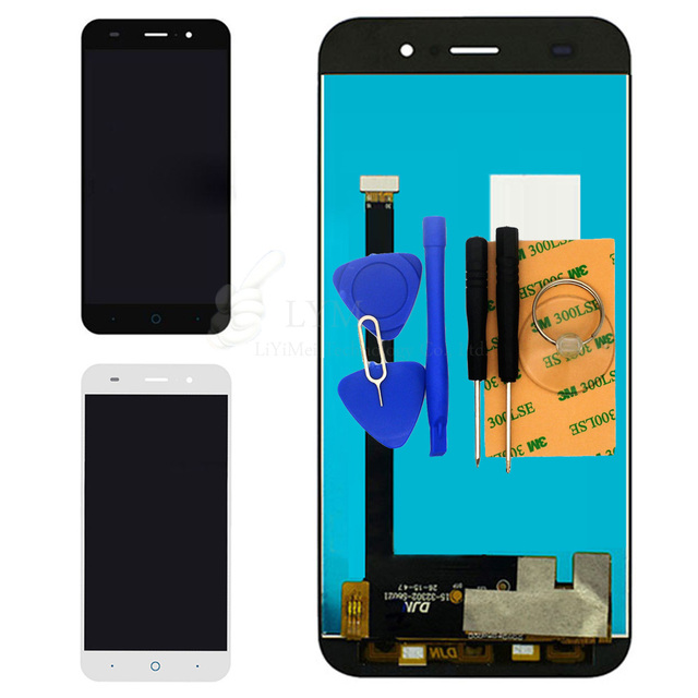 LCD+TP for ZTE Blade Z7 X7 D6 V6 (not for Nubia Z7 X7) LCD Display Touch Screen Digitizer Panel Asssembly Free Shipping+Tools