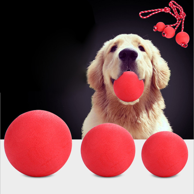 2018 Hot Dog Pet Giocattolo Palla di Gomma Palla Giocattolo Cane di Animale Dome