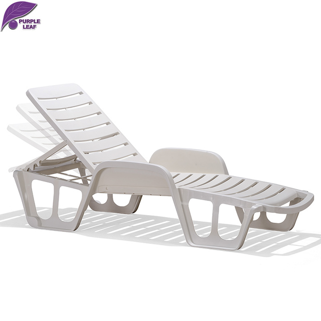Delicieux PURPLE LEAF Plastic Sun Lounger Beach Chair Portable Parasol Deckchair  Leisure Solarium Couch Garden Chair Chaise