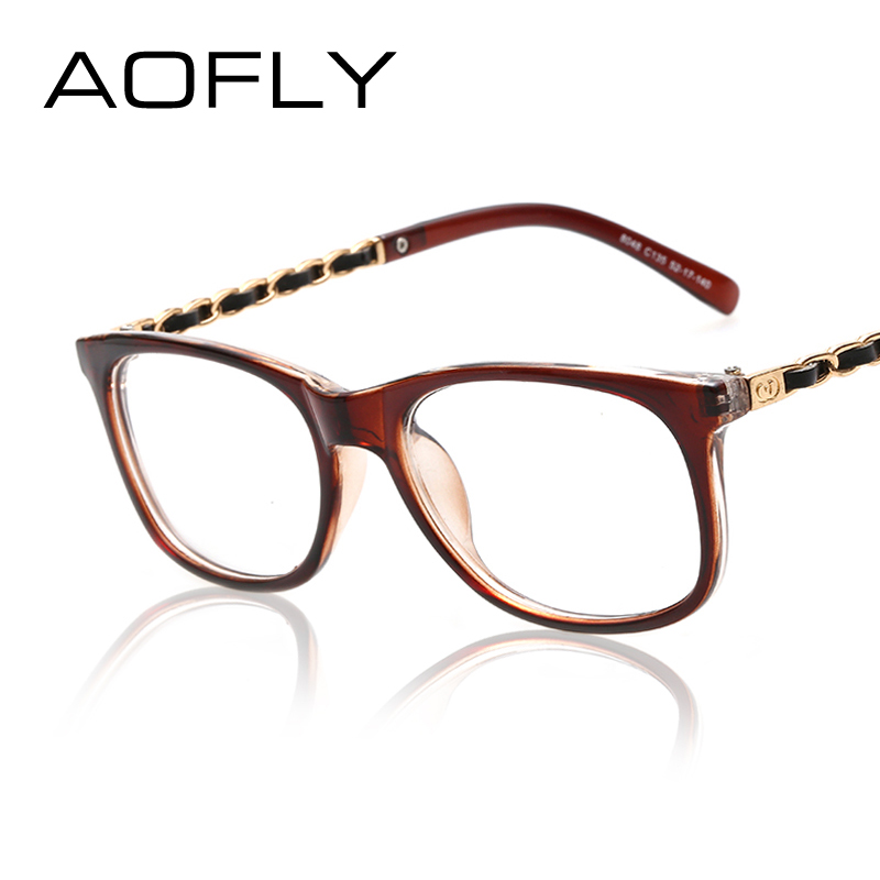 trendy eyewear hufo  Fashion Vintage Clear Lens Frame Glasses Clear len