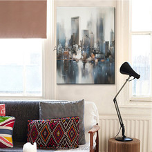 Paris City Painting Home Decor Decoration Oil painting Wall Pictures for living room paint art 1