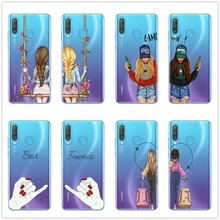 We will always be best friends BFF silicone Case For Huawei