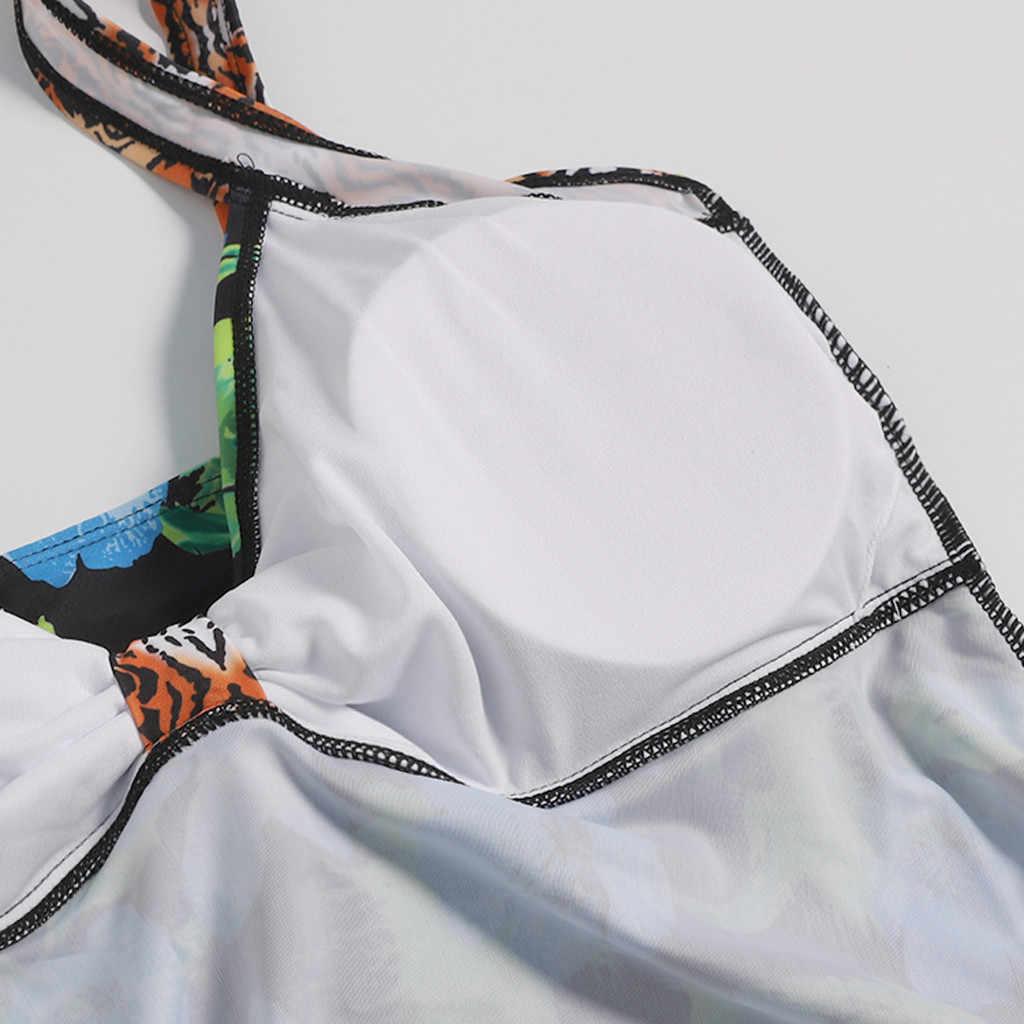 Купальник женский пуш-ап Пасхальный 2019 женский сексуальный Спортивное бикини Монокини купальник купальники, пляжная одежда с открытой спиной badpak meisje