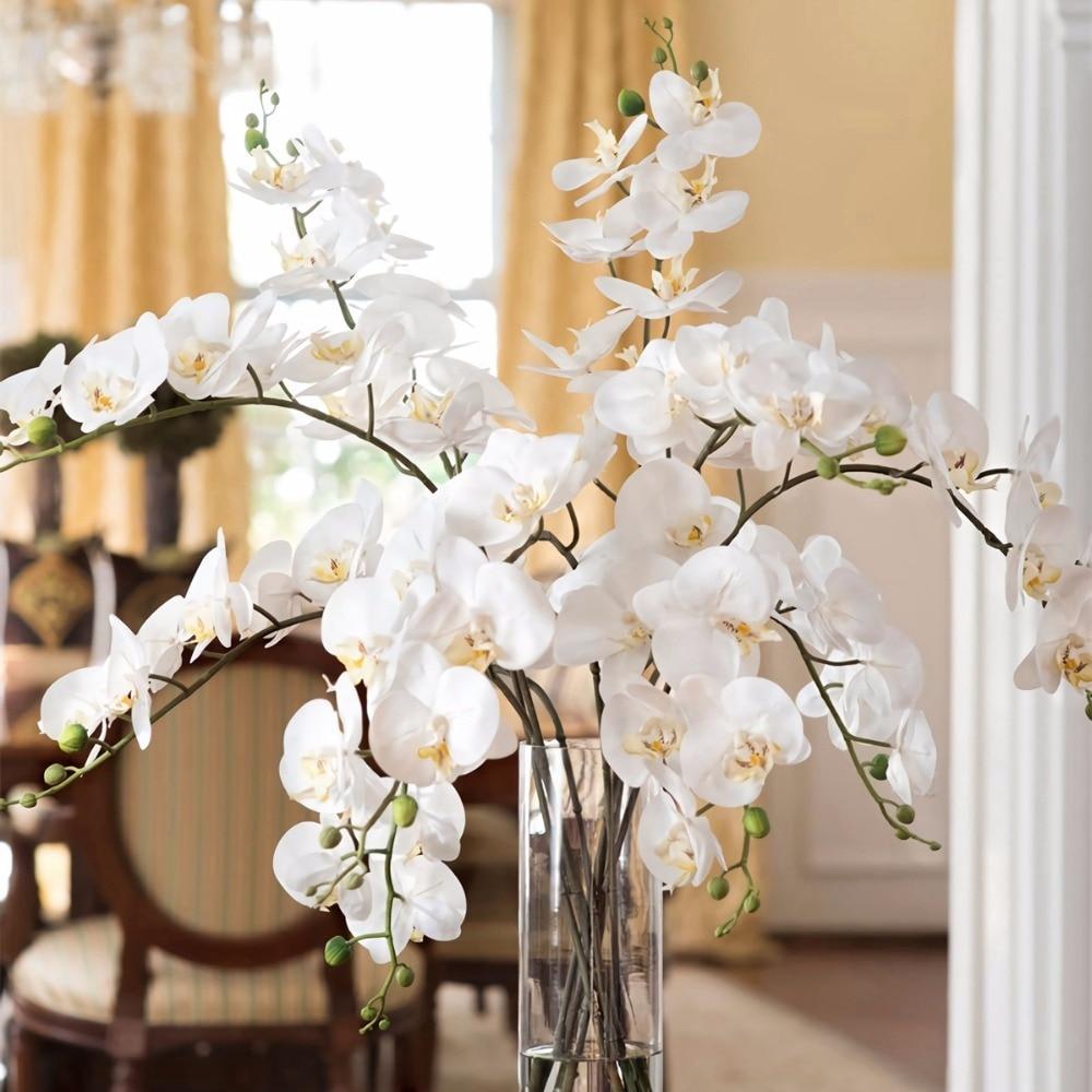 1 шт., декоративная бабочка-Орхидея, на ощупь