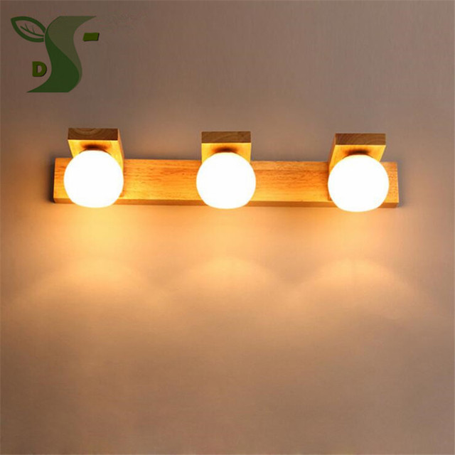 1PCS 10W + 1PCS 15W LED Mirror Lamp Led Modern Waterproof Fog, Wood Lighting  Dressing