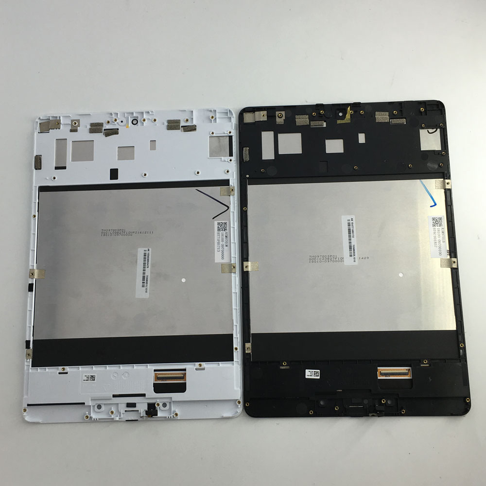 used parts LCD Display Panel Screen Monitor Touch Screen Digitizer Glass Assembly with frame For ASUS ZenPad 3S 10 Z500M P027 new 9 7 lcd display touch screen panel digitizer glass assembly replacement with frame for asus zenpad 3s 10 z500m p027