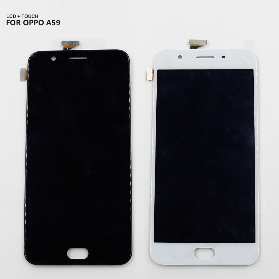 For Oppo F1S A1601 A59 LCD Display Touch Screen Digitizer Panel Glass Assembly +Tools