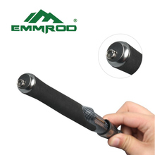 NEW Emmrod Fishing Combo Casting Pole Spinning Rod &spincast reel Stainless Portable Casting Fishing Pole Rod Fishing Tackle PQB