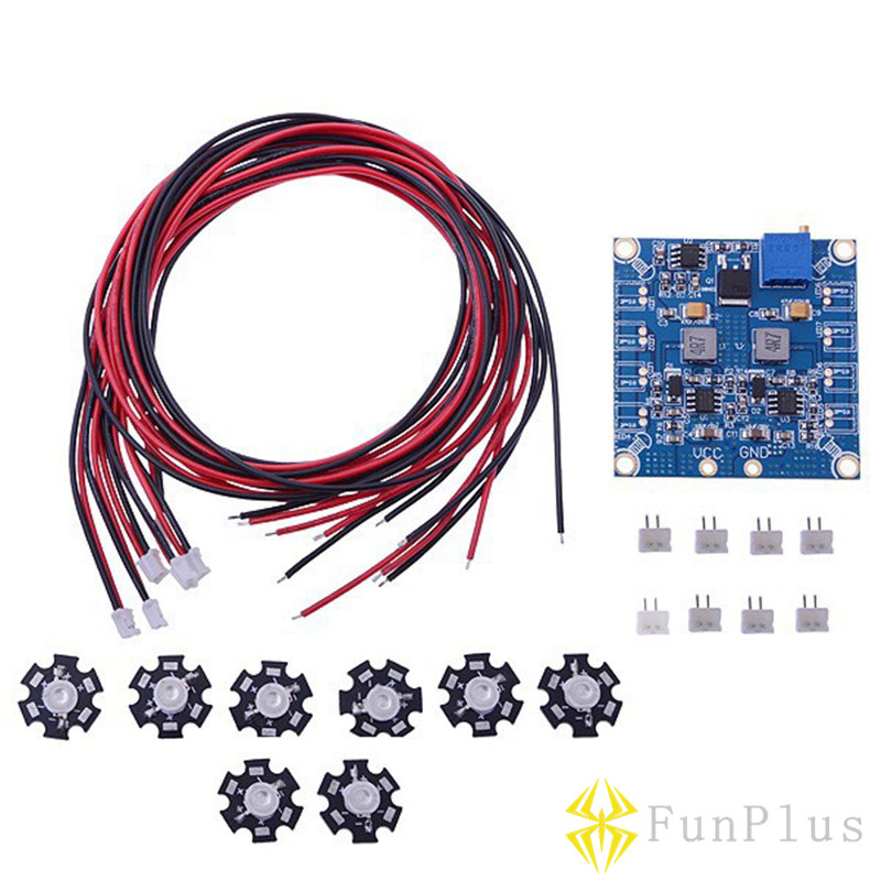 FPV RC LED Flashing Night Light with Control Board Module And Extension Wire for Octocopter FPV Octo f04305 sim900 gprs gsm development board kit quad band module for diy rc quadcopter drone fpv