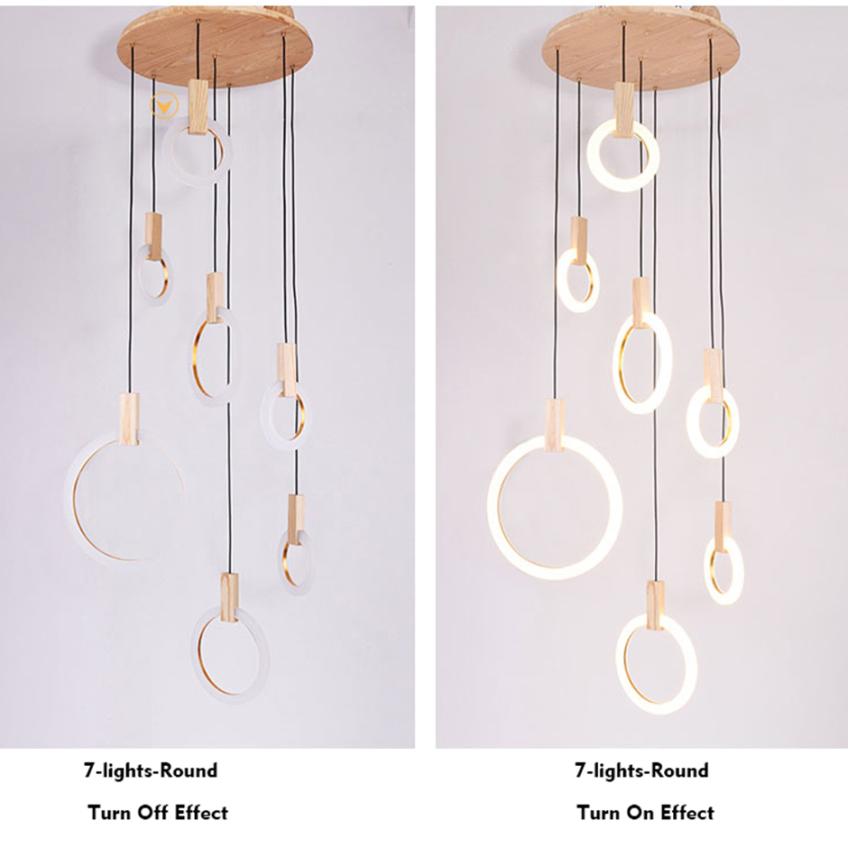 Chandeliers Symbol Of The Brand Modern Led Chandelier Nordic Hanging Lights Kitchen Illumination Bedroom Lighting Fixtures Novelty Glass Suspended Lamps