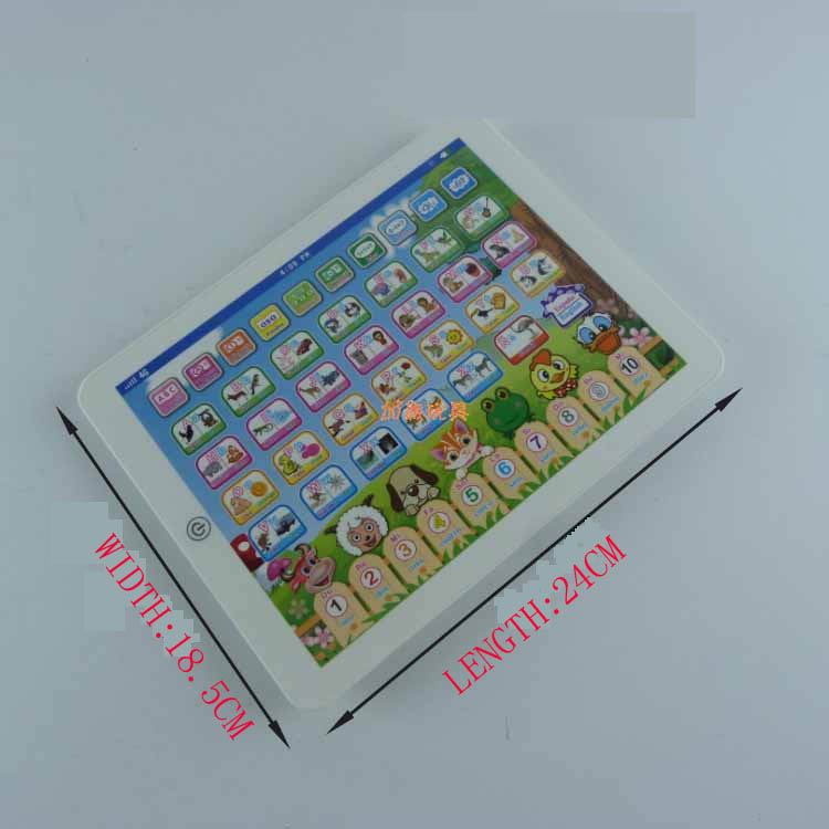 US $15 2 |Spanish / English Learning Machine Learning toy smart ipad Early  education machine-in Learning Machines from Toys & Hobbies on