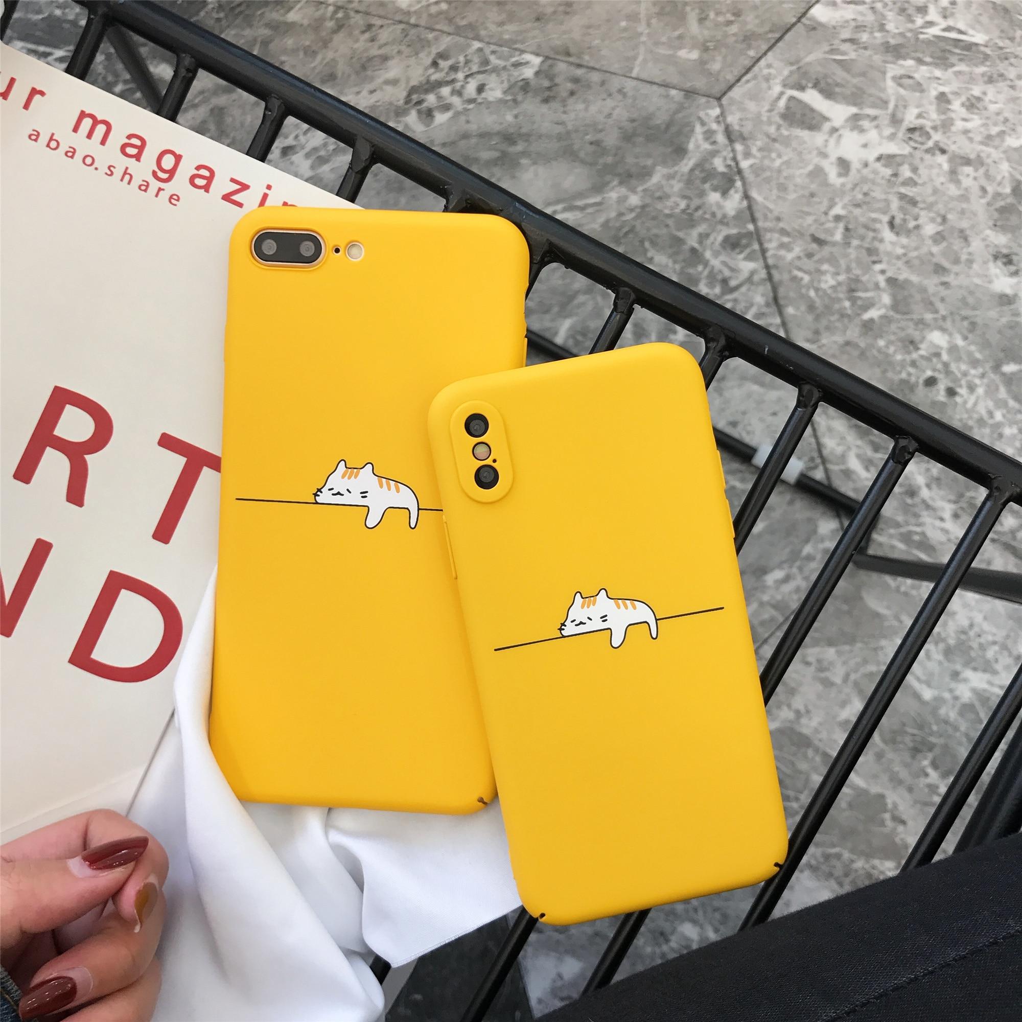 Coque Funda Phone Case For iPhone 6 6s 7 8 X Plus Case