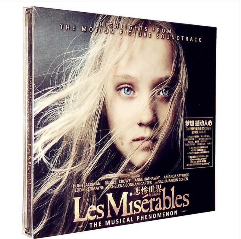 Free Shipping: Les Miserables Soundtrack Music Collection CD Seal ...
