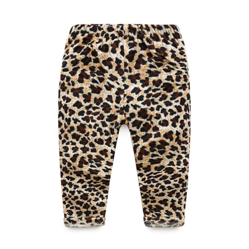 709c6d754c933 Girls Pants 2017 Fashion Autumn Toddlers Infants Baby Kid Girls Leopard leggings  Trousers Long Pants Clothes