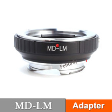 лучшая цена MD-LM Adapter Ring for MD/MC Mount Lens to  M Mount TECHART LM-EA7
