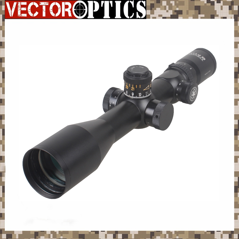 Vector Optics Siegfried 3-12x50 FFP Tactique 34mm Huting Lunette/1 Cliquez 1 cm Ajuster Fit Nuit Vision Livraison gratuite Portée