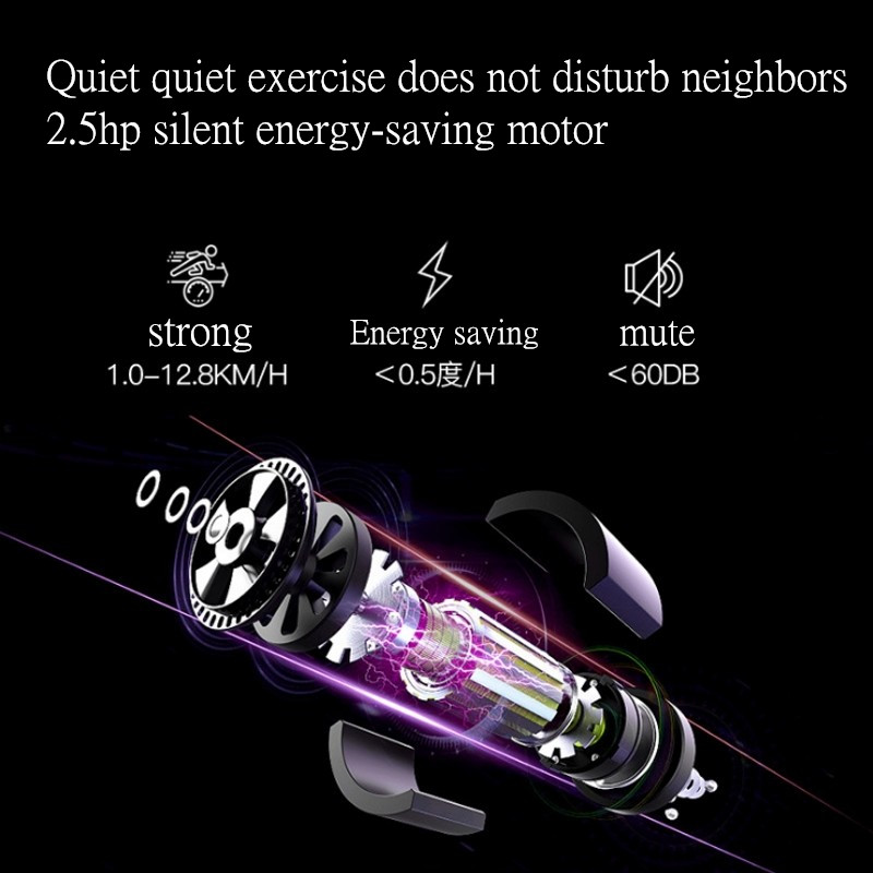 HD lcd цветной экран электрическая беговая дорожка Bluetooth многофункциональная тренировка для занятий спортом в помещении для складывания дома беговые дорожки