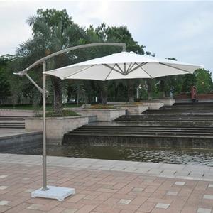 Image 3 - 2.7 metro di ferro in acciaio promozione patio ombrellone da giardino parasole parasole mobili da giardino copre (senza base in pietra)