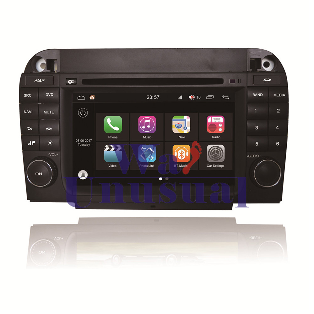 WANUSUAL 7 WINCA S190 Android 7.1 Quad Core 16G 2G RAM Car DVD Player for Benz S Class old W220 GPS Navi Bluetooth WIFI Maps