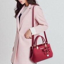 NIBESSER 2018 Elegant Shoulder Bag Women Designer Luxury Handbags Women Bags Plum Bow Sweet Messenger Crossbody Bag for Women