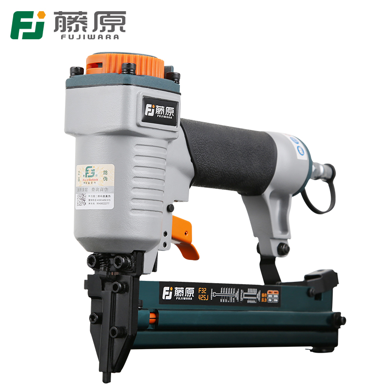 цена на FUJIWARA 18Ga/20Ga Pneumatic Nail Gun Innovative 2-In-1 Air Nail Gun Two-use Nail Gun F10-F32 And 425J Nails