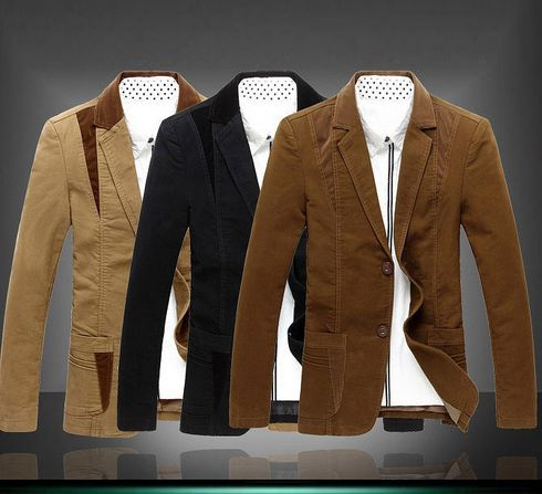 Man classical Jackets Suit Slim fit Blazer masculino