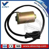 6D102 Bagger dreh schaukel magnetventil 206-60-51131 für Komatsu PC100-6 PC120-6 PC200-6 PC200LC-6