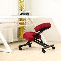 Эргономичный дизайн ортопедическое кресло ткань подушки сиденья современная офисная мебель компьютерное кресло эргономичная осанка колено стул