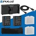 Ir Acessórios Pro 7 em 1 Acessórios Carregador Combo Kit (baterias + Cabo + Carregador de Bateria + Saco de Malha) para gopro hero 3 +/3