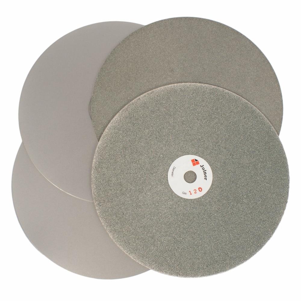 4PCS 8 inch 200 mm Grit 120 240 600 1000 Diamond Grinding Disc Wheel Flat Lap