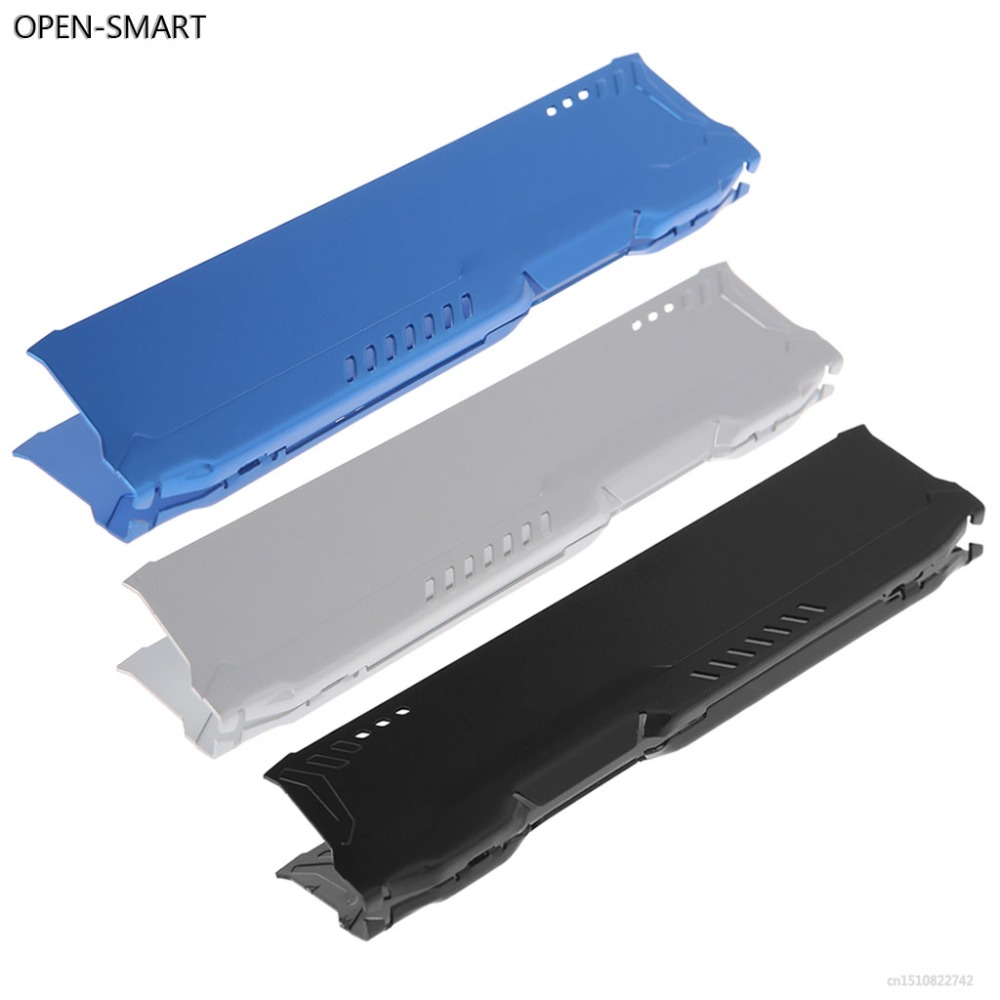 OPEN-SMART DDR1/2/3/4 RAM Memory Aluminum Cooling Spreader Computer Heatsink Vest Radiator 13 x 2.7cm