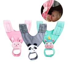 JOYREN Stroller Cartoon Baby Feeding-Bottle Holder Anti-Drop Hanger Belt Stroller Accessories