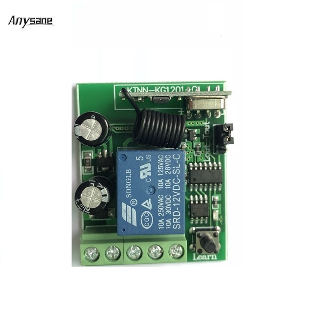 1 ch 433mhz universal smart remote receiver 433mhz learning code 12 volt relay harness 1 ch 433mhz universal smart remote receiver 433mhz learning code remote control switch dc 12 v