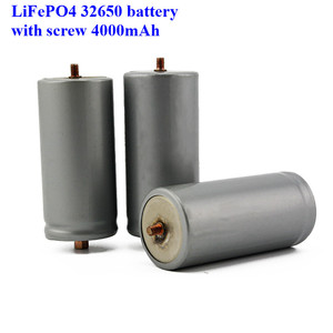 Image 4 - 2pcs a lot screws LiFePO4 battery 32650 4000mAh rechargeable lithium ion cell for Electric bike