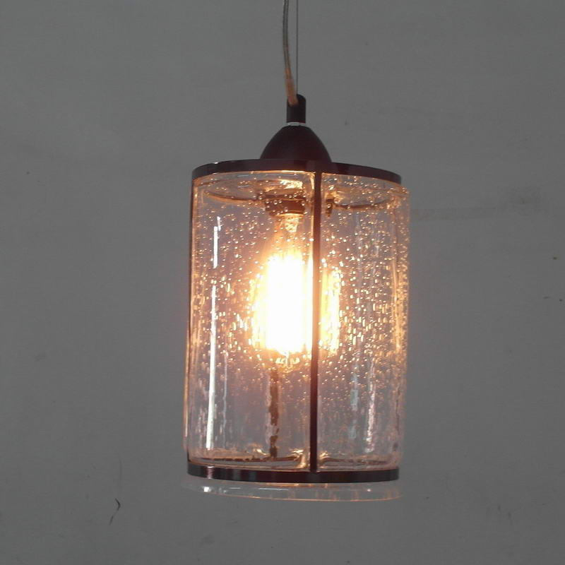 Clear antique glass pendant lamp For Kitchen Lights Cabinet Living dining room Edison Simple Glass Pendant Light Fixture E27 loft simple retro edison industrial clear glass metal pendant lamp lights for cafe bar dining room shop living room store decor