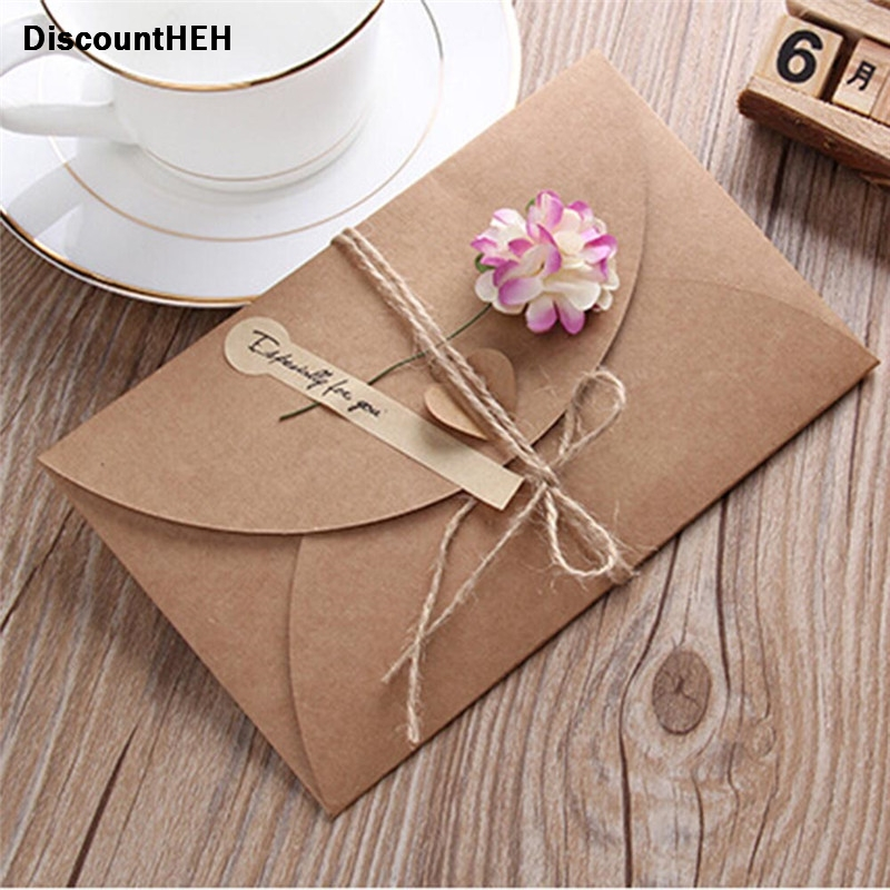 Stationery Set DIY Sunflower Rose Greeting Cards Word Message Wishes Cards Kids Gift DIY Craft Cards Random Color
