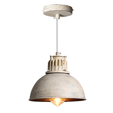 20cm Rustic Vintage Pendant Lamp For Home Lighting Living Room Style Loft Industrial Light LED Pendant Lights Fixtures Lamparas  free shipping ems pendant light vintage lighting iron lamp american rustic lamp living room lights pendan