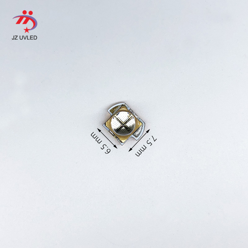 10W 365nm flashlight <font><b>UV</b></font> Module for Ultraviolet glue curing equipment light source quartz 395nm LG 3535 chip <font><b>UV</b></font> LED Lamp beads image