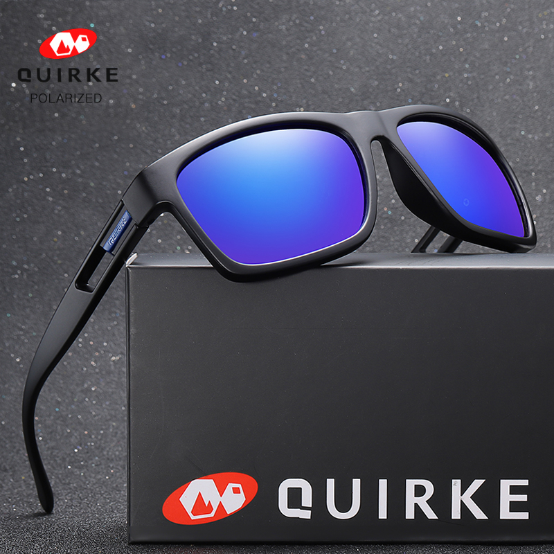 Quirke Vintage Sunglasses Men Polarized Female Eyewear Sun Glasses Luxury Brand Designer Night Vision Oculos Gafas De Sol Male