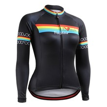 Breathable Cycling Jersey 2016 Womens Long Sleeve Clothing Spring Autumn Winter Bike Bicicleta Ciclismo