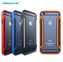 Free Shipping NILLKIN Armor-Border Series Ultra-Thin Luxury Bumper Case For Apple iPhone 6 6S iPhone6 case Gift Screen Protector