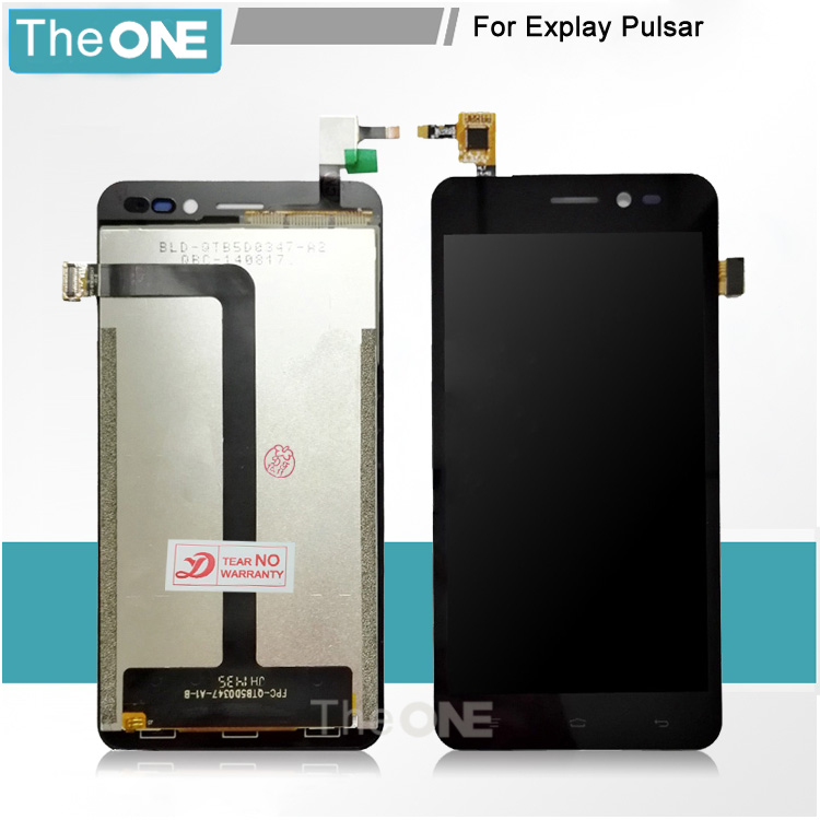10 pcs Wholesale Price Top Quality For Explay Pulsar LCD Display+Touch Screen Digitizer Assembly