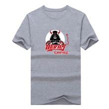 2017 New 100% Cotton Devils Empire T-shirt Star Wars Darth Vader T Shirt 0105-5