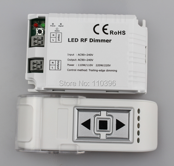 3 key draadloze afstandsbediening triac rf led dimmer controller voor - Lamp accessoires - Foto 6