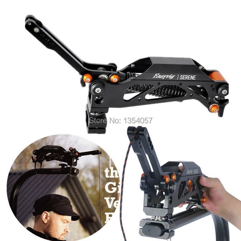 Как EASYRIG flowcine спокойный рука фильм камеры dslr DJI ронин 3 ось карданный стабилизатор гироскоп гироскопа steadicam устойчивый поддержка