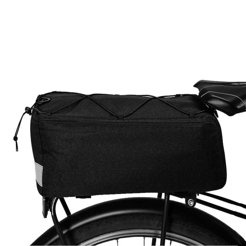 Roswheel Sahoo Serisi 142001 Bisiklet Bisiklet Termal Yalıtımlı Gövde soğutucu çanta Öğle Yemeği Çantası Pannier Paketi Omuz Askısı Ile 8L